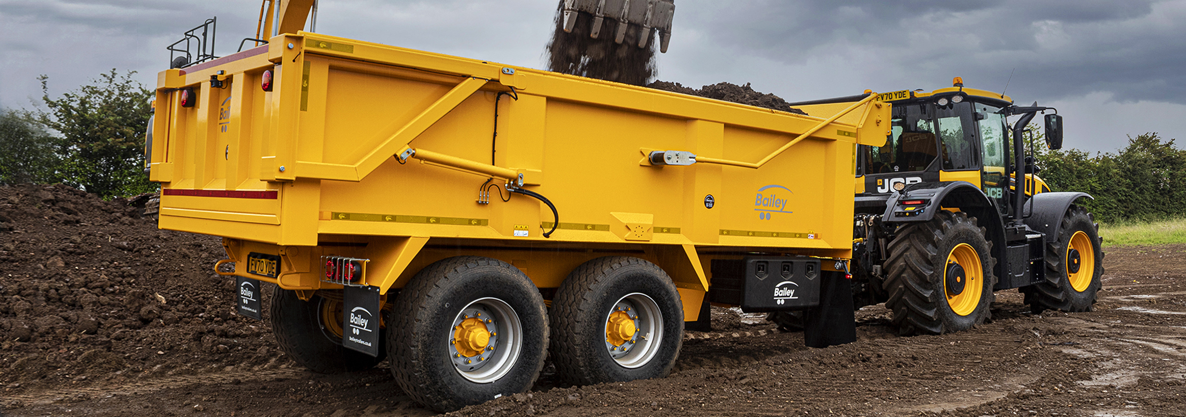 Contract Tipper Trailers