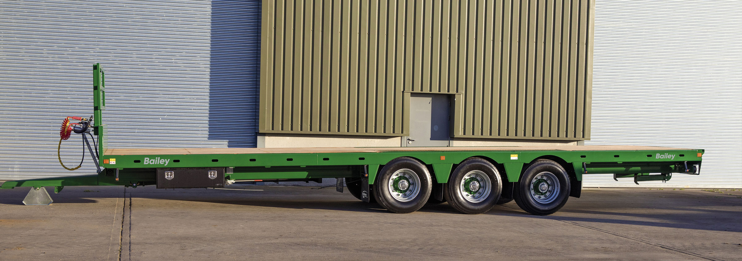 Flat Deck Low Loader Trailers