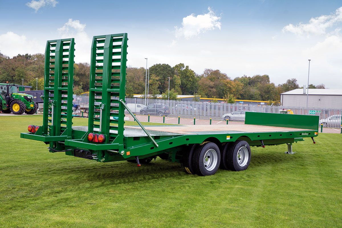 Bailey Trailers | Products | Beavertail Flat Deck